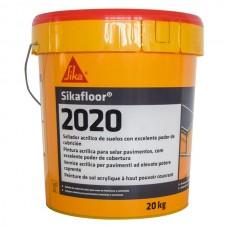 Sikafloor-2020 - Vopsea acrilica pe baza de apa pentru trafic usor