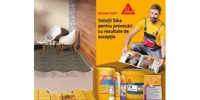 Solutii Sika pentru proiecte rezidentiale