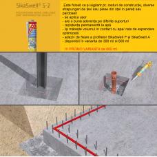 SikaSwell S2 - Sigilant poliuretanic monocomponent, expandabil in contact cu apa