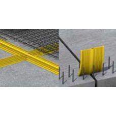 Benzi si profile de etansare din PVC (Sika Waterstop PVC-P si WP)